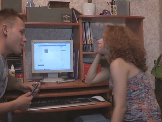 Having caught his curly girlfriend watching erotic pics of black guys this guy knew this babe wanted to have sex with one and offered her a deal: that babe copulates a black dude for specie and this guy buys himself a recent gaming PC. The slut assented and not ever regretted 'cuz the brotha that babe chose had a large tireless schlong and fucked her to orgasm like a pro right in front of her boyfriend's eyes. U wager that babe'll be the one offering him to buy a fresh plasma TV pretty soon.