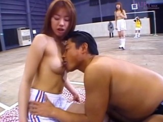 Playgirl from Japan with clean shaved vagina gets fucked so well