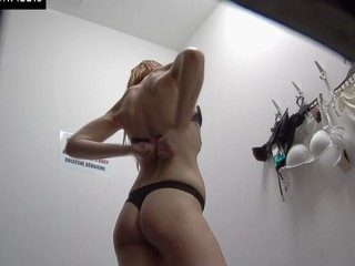 Here is spying the changing rooms! We have two security cameras hidden in cabins of an underclothes shop. Beautiful Czech angels fitting on bras, pants and sexy underware out of even the slightest idea they are being watched. Now u can lastly watch what beauties do in the changing room!