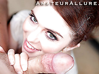 Miley is eighteen years old, very cute and this babe has returned for her first cum facial ever! This is the second time Miley has visted AmateurAllure.com, and I am going get my discharged at her this time. This Babe has an amazing, taut body and gorgeous face, and that babe really likes engulfing dick. After that babe blows me for a during the time that, I bent her over and fucked her constricted little bawdy cleft. That Babe is a fun little spinner. After a lot of fucking I discharged a huge load all over her face.